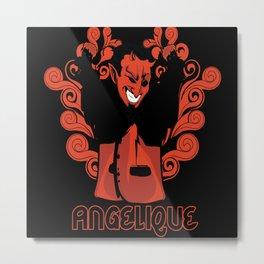 Angelique Devil Mephistopheles Metal Print