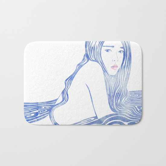 Water Nymph LXXVI Bath Mat