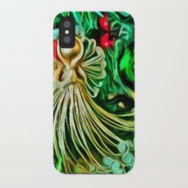 Christmas Angel iPhone Case