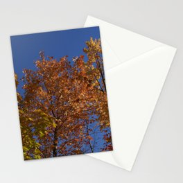 Les arbres dans le ciel Stationery Cards