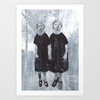 Sister series Art Print