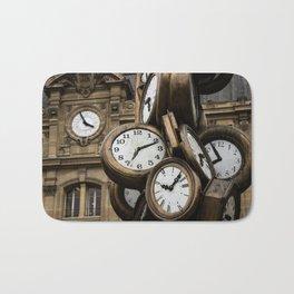 Saint Lazare Train Station in Paris  Bath Mat