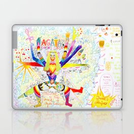 THE DAY I GOT MY JUICY CRAYONS AND YOU MADE YOUR BEST HUMUS EVER Laptop & iPad Skin