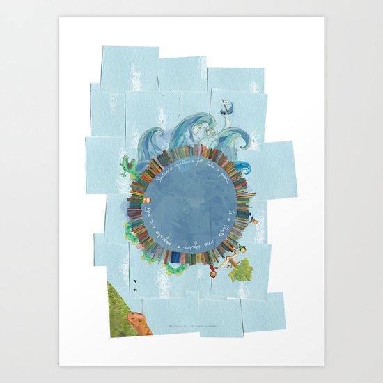 Adamastor Art Print