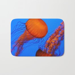 Color Jellyfish 1 Bath Mat