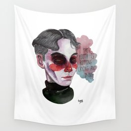 The youth is dying Wall Tapestry