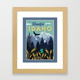 Beautiful Idaho Framed Art Print