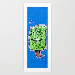 paleta face Art Print