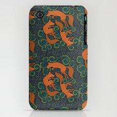 Foxy Pattern iPhone (3g, 3gs) Slim Case