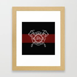 Maltese Cross Framed Art Print