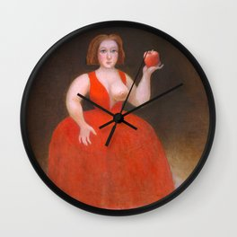 Apples. Wall Clock