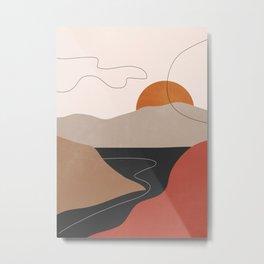 Abstract Art / Landscape 2 Metal Print