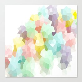 Pastel Abstract Canvas Print