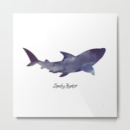Lonely Hunter Metal Print