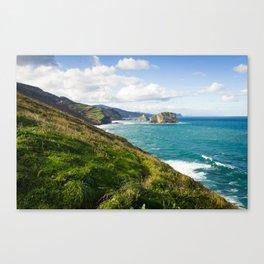 Basque Country coast landscape Canvas Print