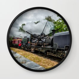 Steam Locomotive Wall Clock