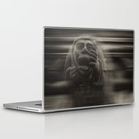 medieval Laptop & iPad Skins featuring Medieval angst by Mark Nelson