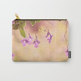 Flowers in the Rain Carry-All Pouch