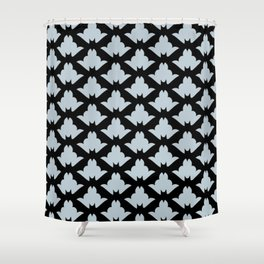 Classy Bat Pattern Shower Curtain