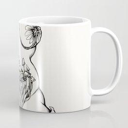 Flora ink torso Coffee Mug