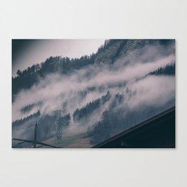 Swiss Fog III Canvas Print