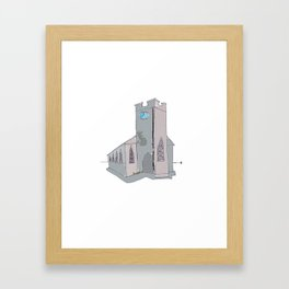 The wee church in Ardrahan. Co Galway. Framed Art Print