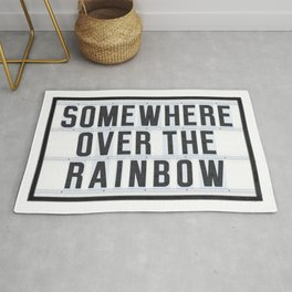 Somewhere - Typo Rug