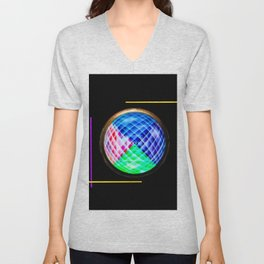 Abstract in perfection 10 Unisex V-Neck