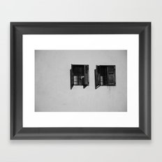 can  you see? Framed Art Print