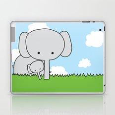 Mommy Elephant Laptop & iPad Skin