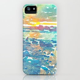 Lake Michigan iPhone Case
