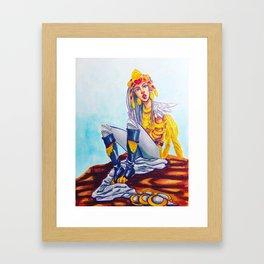 Kommo-o Framed Art Print