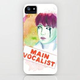 Main Vocalist iPhone Case