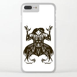 Shamanic travel (shaman walk) Clear iPhone Case