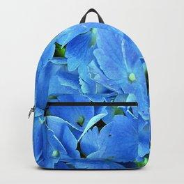 Elegant Blue Hydrangea Backpack