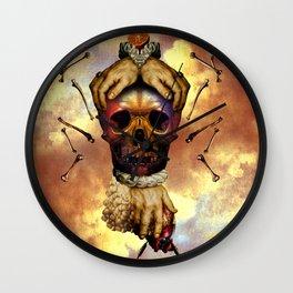 Vanitas vanitatum omnia vanitas Wall Clock