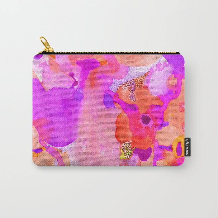 Lava Elements (Cosmic Watercolour) Carry-All Pouch