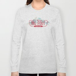 Big Foot Search Team Long Sleeve T-shirt