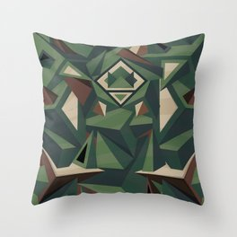 _Camouflage Throw Pillow