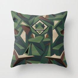 _Camouflage Throw Pillow