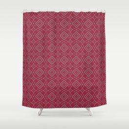 Four-Point Star Shower Curtain
