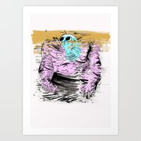 muscle Art Prints featuring Muscle by MR ROGAN JOSH