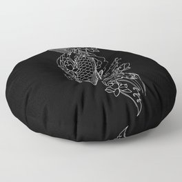 Koi Fish 1 Floor Pillow