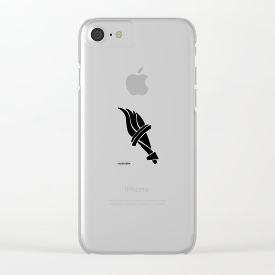 - liberty's walking - Clear iPhone Case