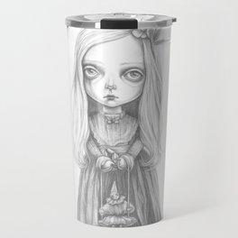 The little ghost girl Travel Mug