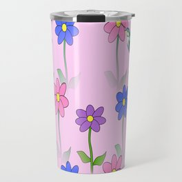 Pink Nature Travel Mug