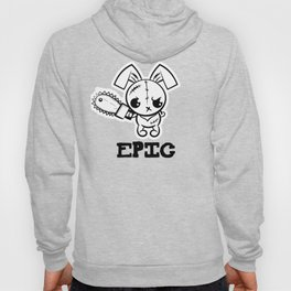 Epic Grumpy Voodoo Bunny Cute Bigfoot Monsters Hoody