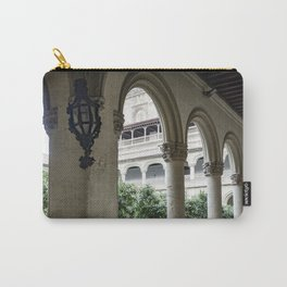 Spanish Cloister with Orange Trees Carry-All Pouch