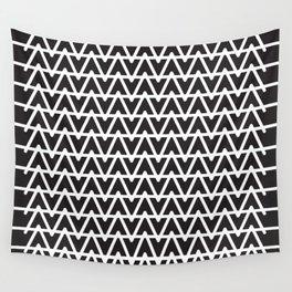 B&W pattern Wall Tapestry