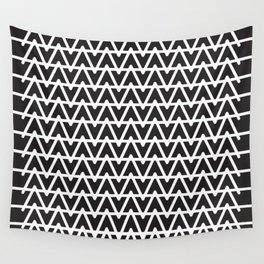 B&W pattern Wall Tapestry